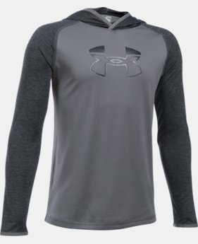 Boys' UA Tech™ Blocked Hoodie  1 Color $20.99