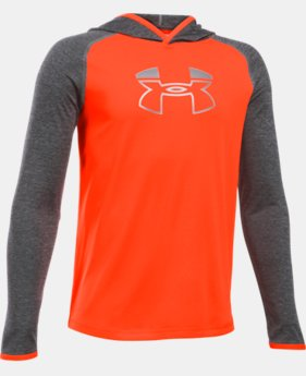 Boys' UA Tech™ Blocked Hoodie  1 Color $44.99