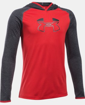 New Arrival  Boys' UA Tech™ Blocked Hoodie   $44.99