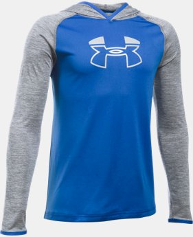Boys' UA Tech™ Blocked Hoodie  2 Colors $20.99