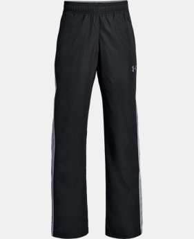 Boys' UA Interval Warm-Up Woven Pants  2  Colors Available $17.99 to $22.49