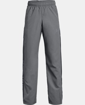 Boys' UA Interval Warm-Up Woven Pants  1  Color Available $22.49