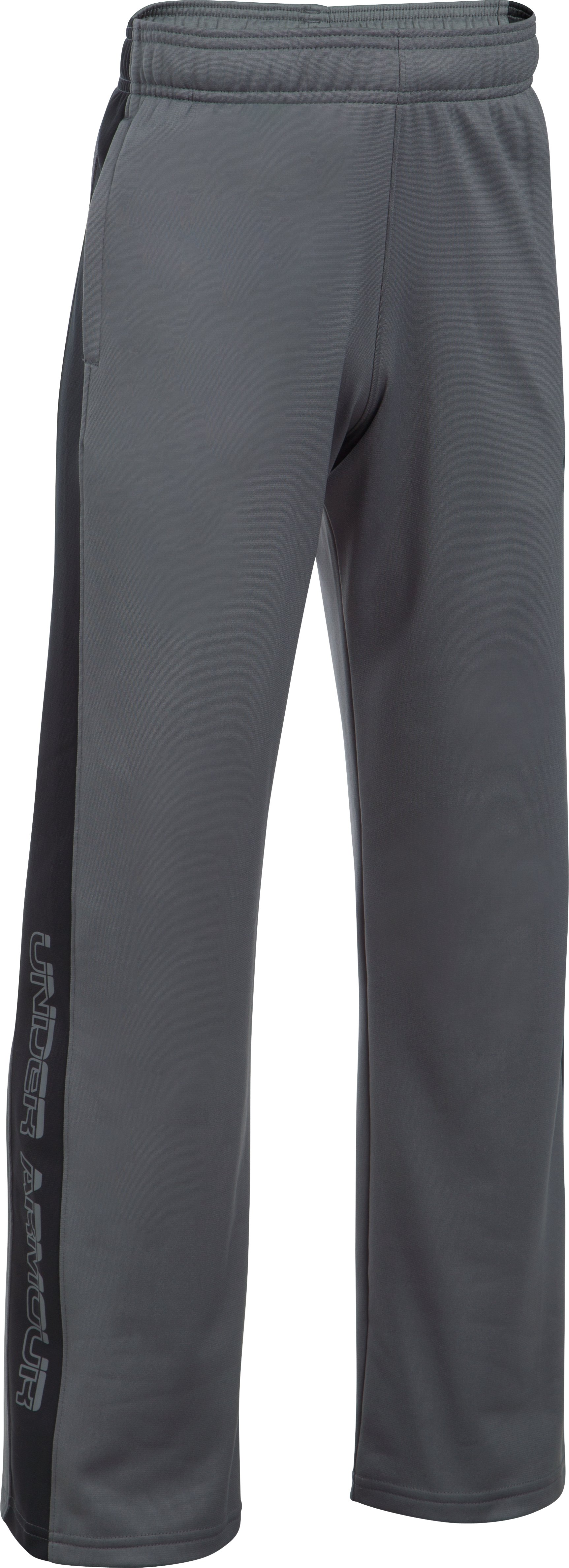Boys' UA Kickstart Warm-Up Pants, Graphite