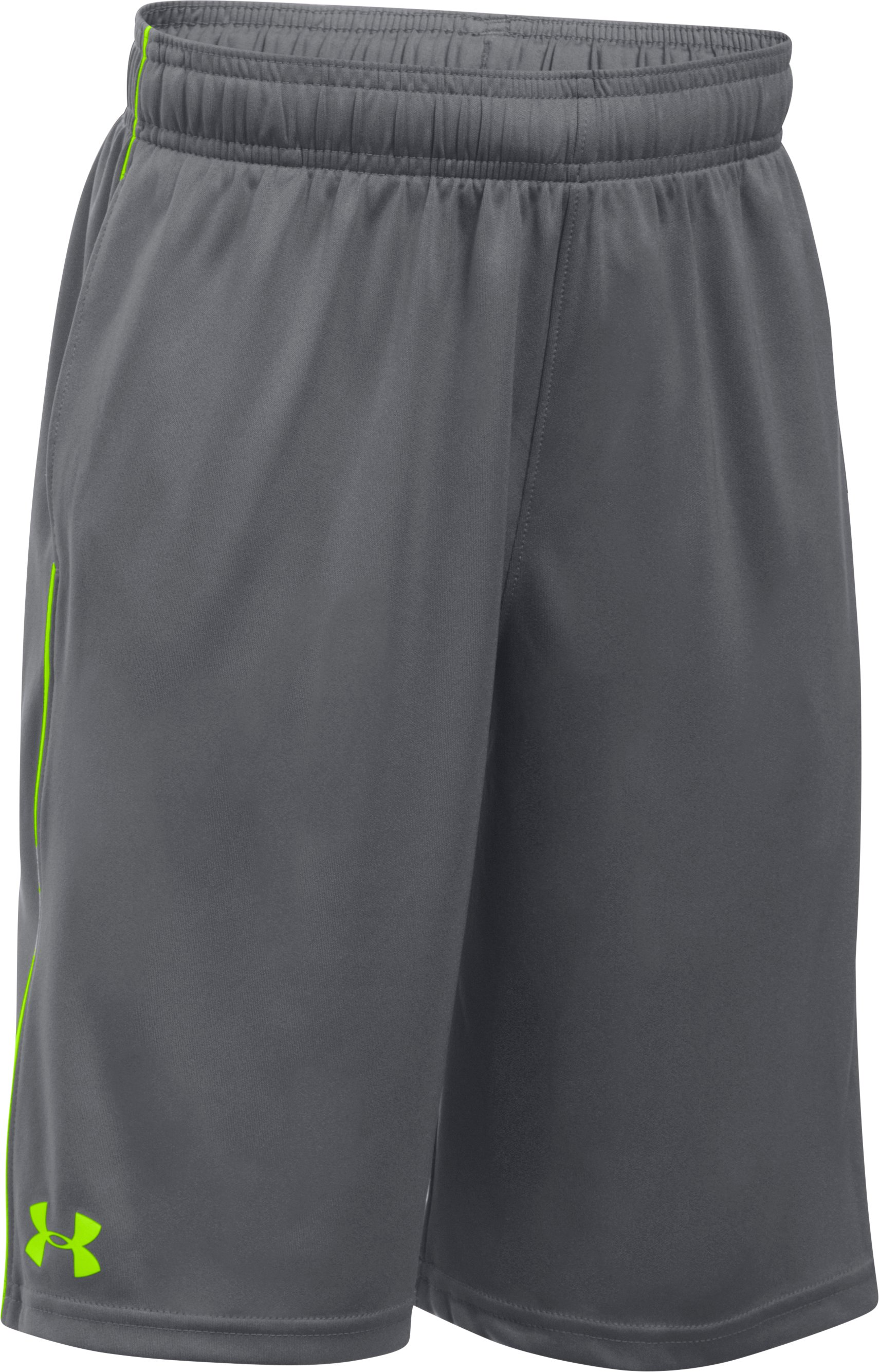 Boys' UA Tech™ Blocked Shorts, Graphite
