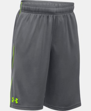 New Arrival  Boys' UA Tech™ Blocked Shorts   $22.99