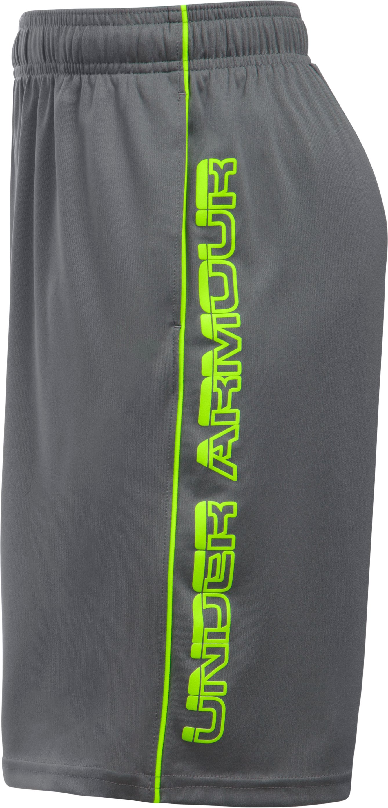 Boys' UA Tech™ Blocked Shorts, Graphite, undefined