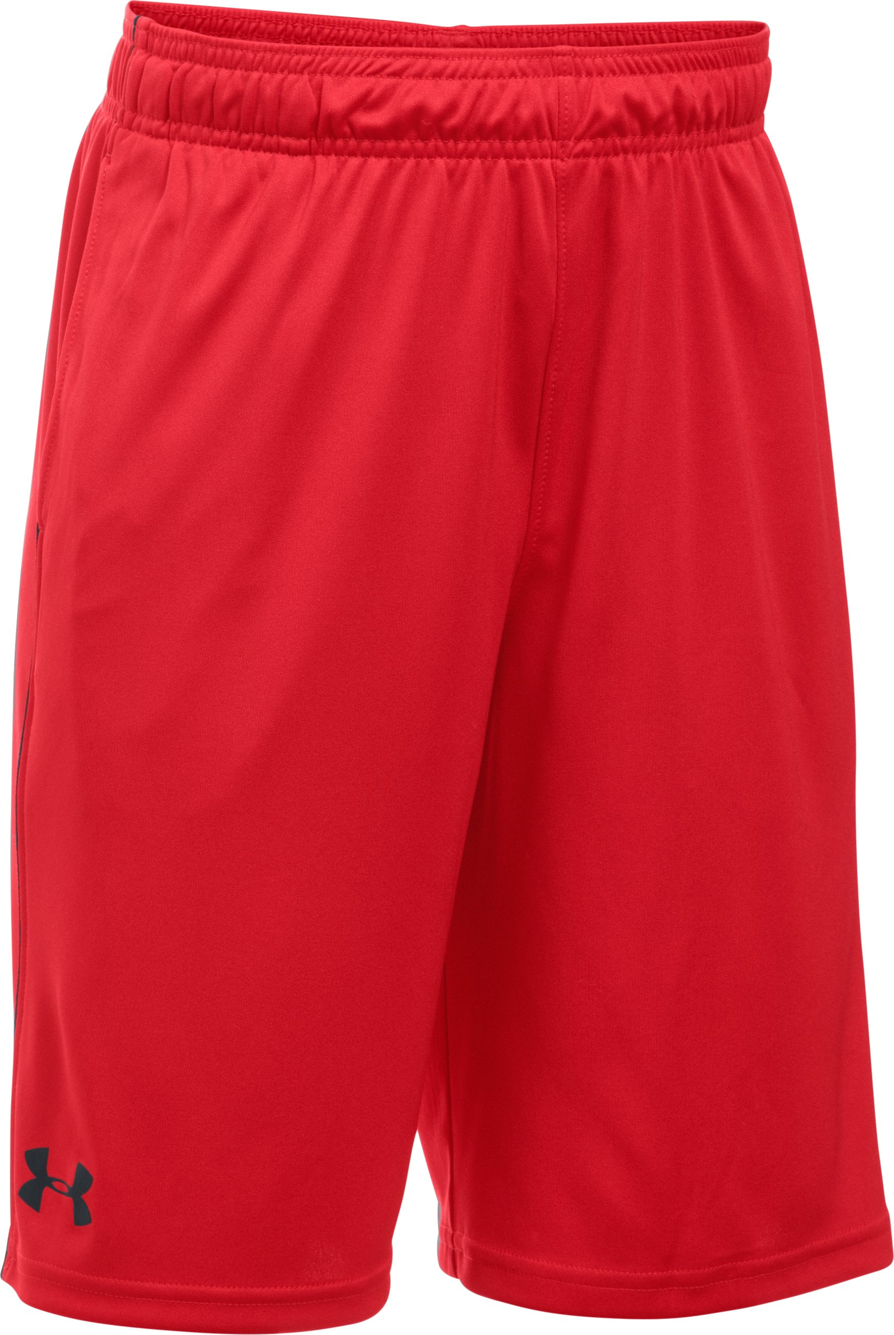 Boys' UA Tech™ Blocked Shorts, Red,