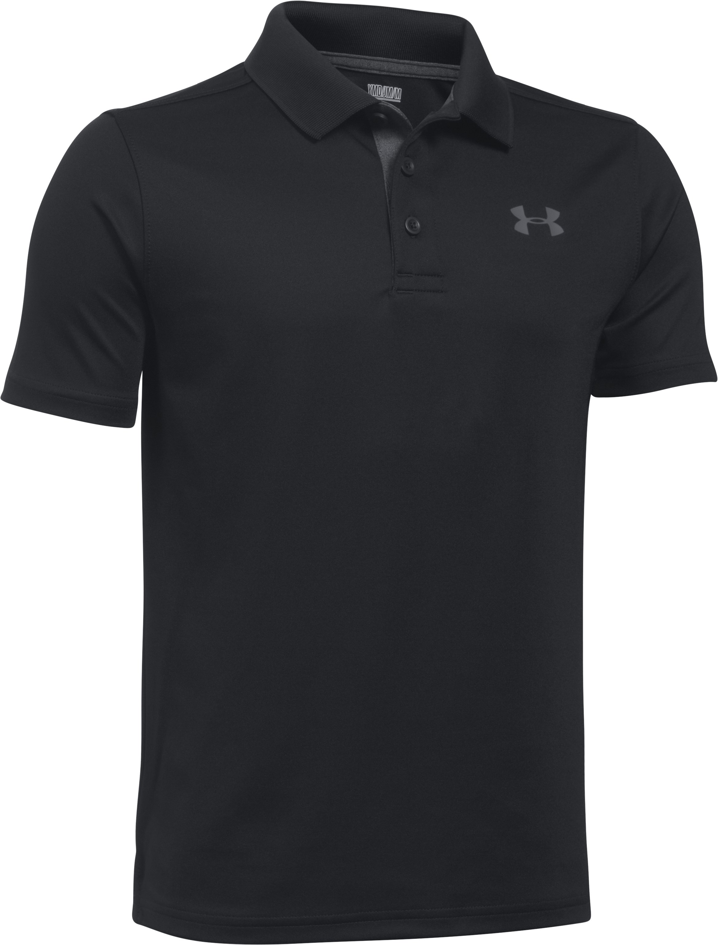 Boys' UA Performance Polo, Black