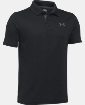 Boys' UA Performance Polo  3  Colors Available $29.99