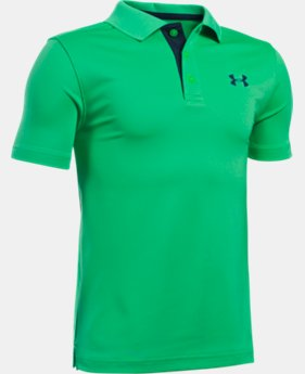 Boys' UA Performance Polo LIMITED TIME: FREE SHIPPING 1 Color $34.99