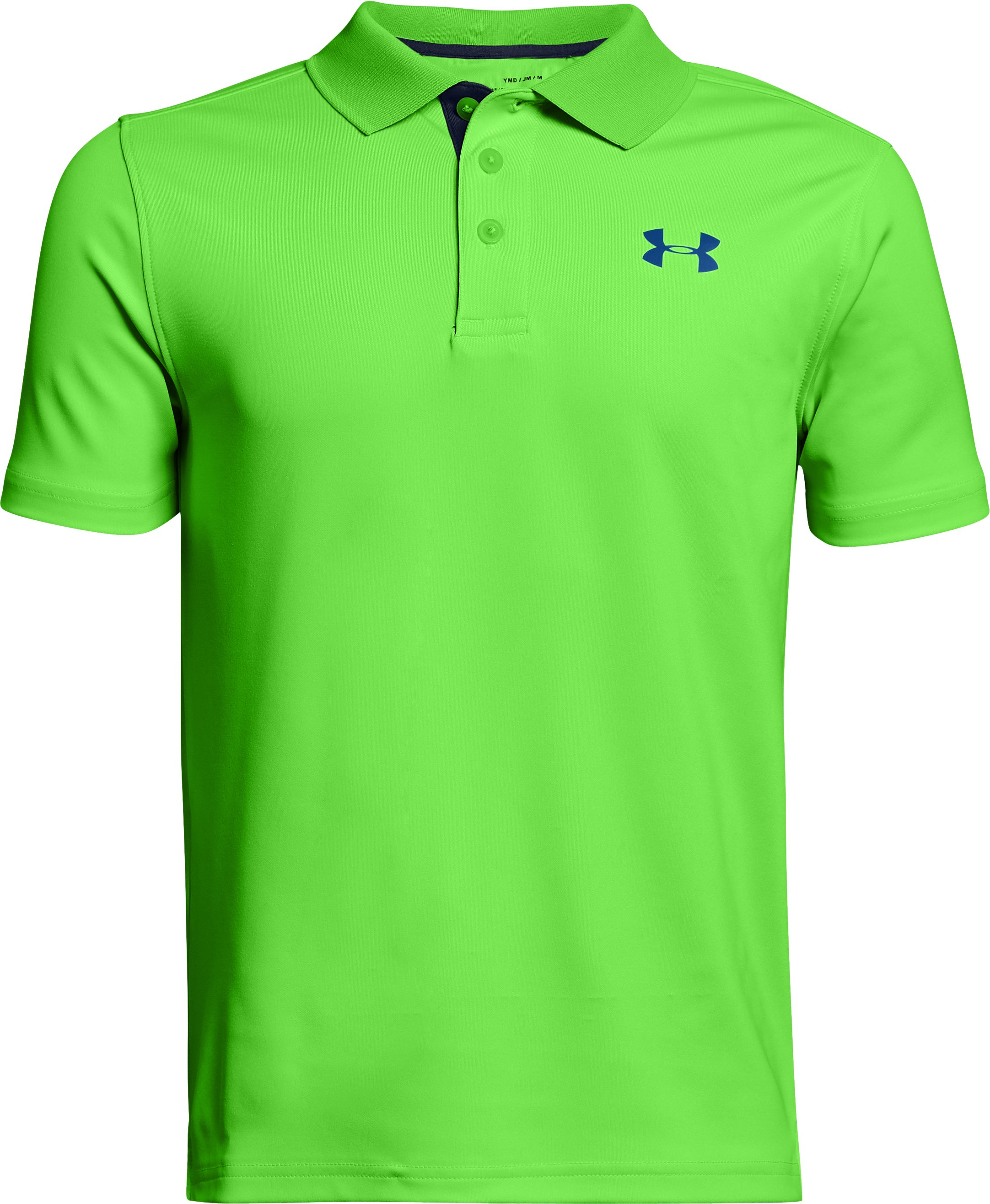 Boys' UA Performance Polo, Poison, undefined