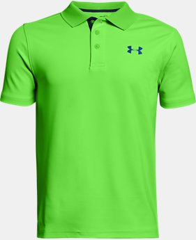 Boys' UA Performance Polo  3 Colors $29.99