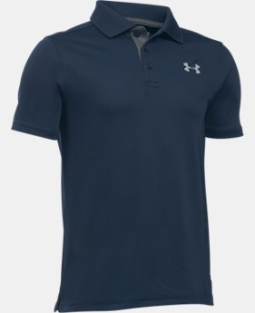 Boys' UA Performance Polo  2 Colors $34.99