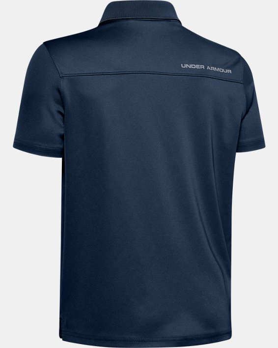 Boys' UA Performance Polo, Navy, pdpMainDesktop image number 2
