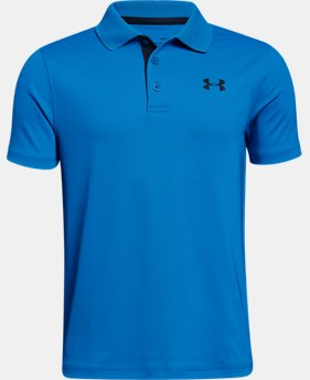 Boys' UA Performance Polo  8  Colors Available $29.99