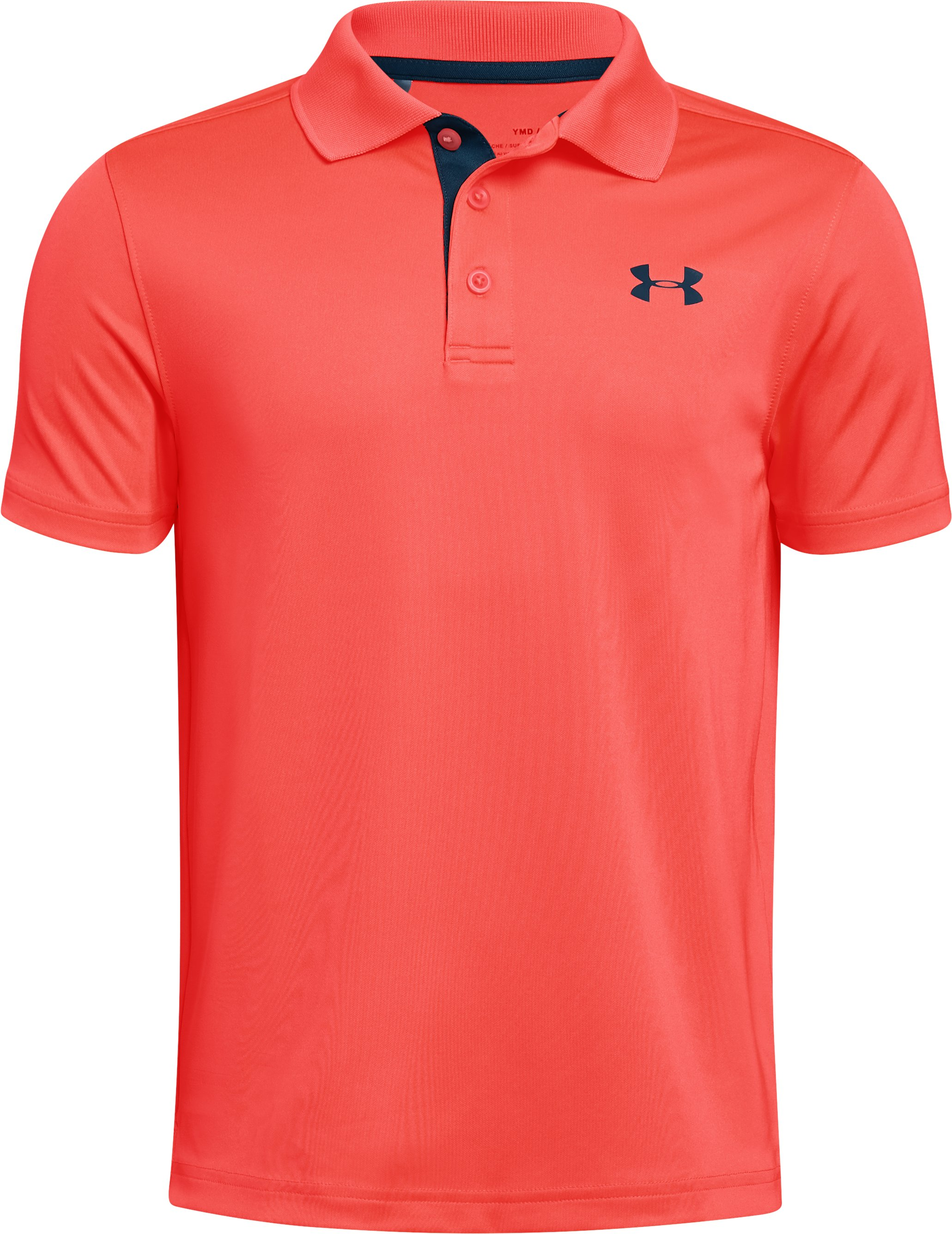 Boys' UA Performance Polo, AFTER BURN,
