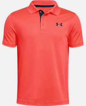 Boys' UA Performance Polo FREE U.S. SHIPPING 2  Colors Available $29.99