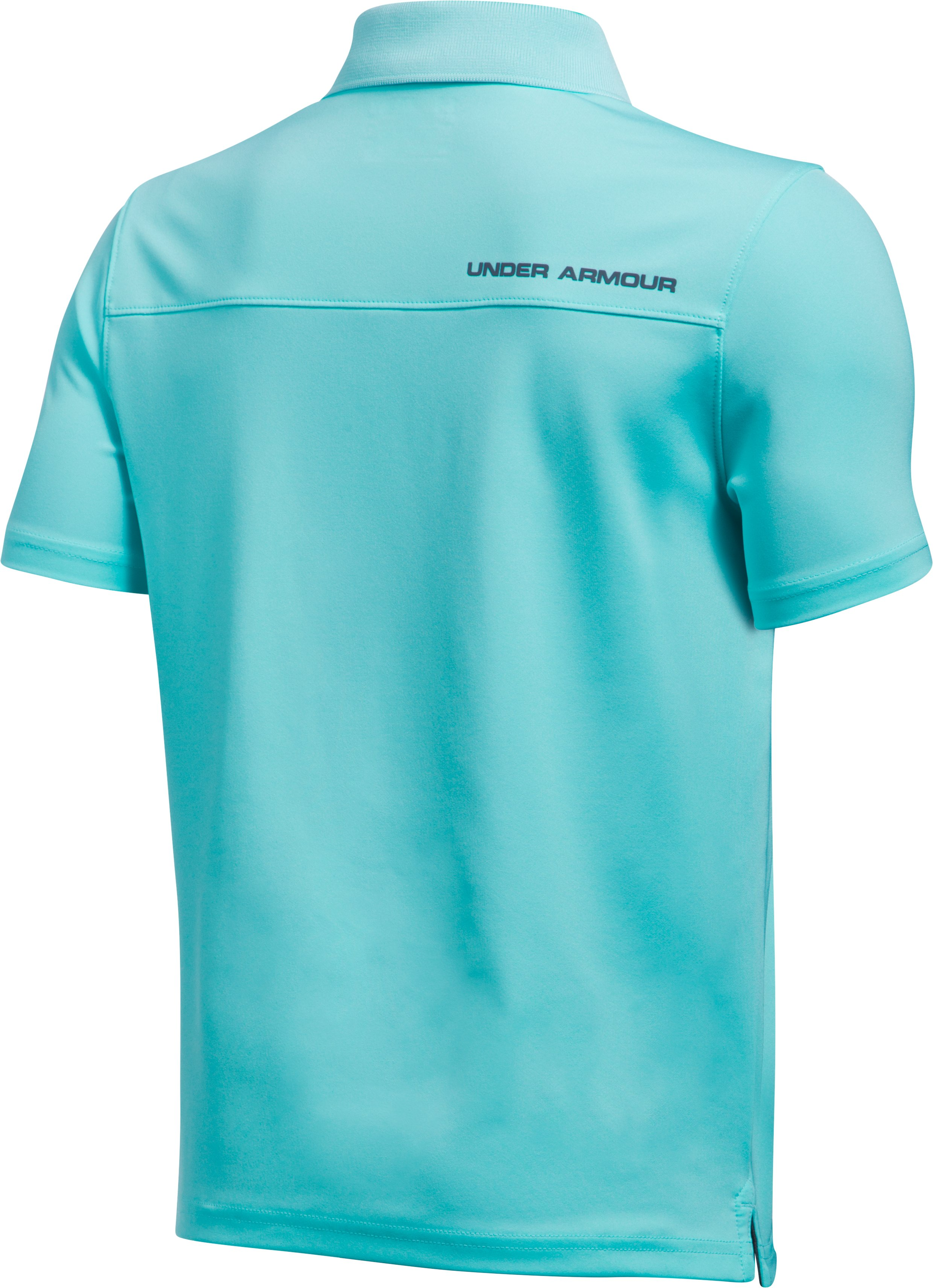Boys' UA Performance Polo, BLUE INFINITY