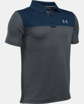 Boys' UA Performance Blocked Polo Shirt  4 Colors $39.99