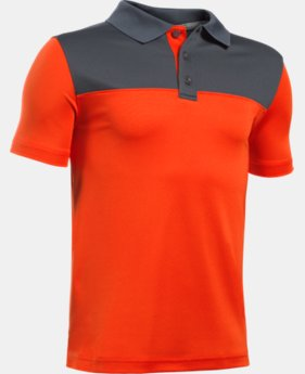 Boys' UA Performance Blocked Polo Shirt  1 Color $20.24