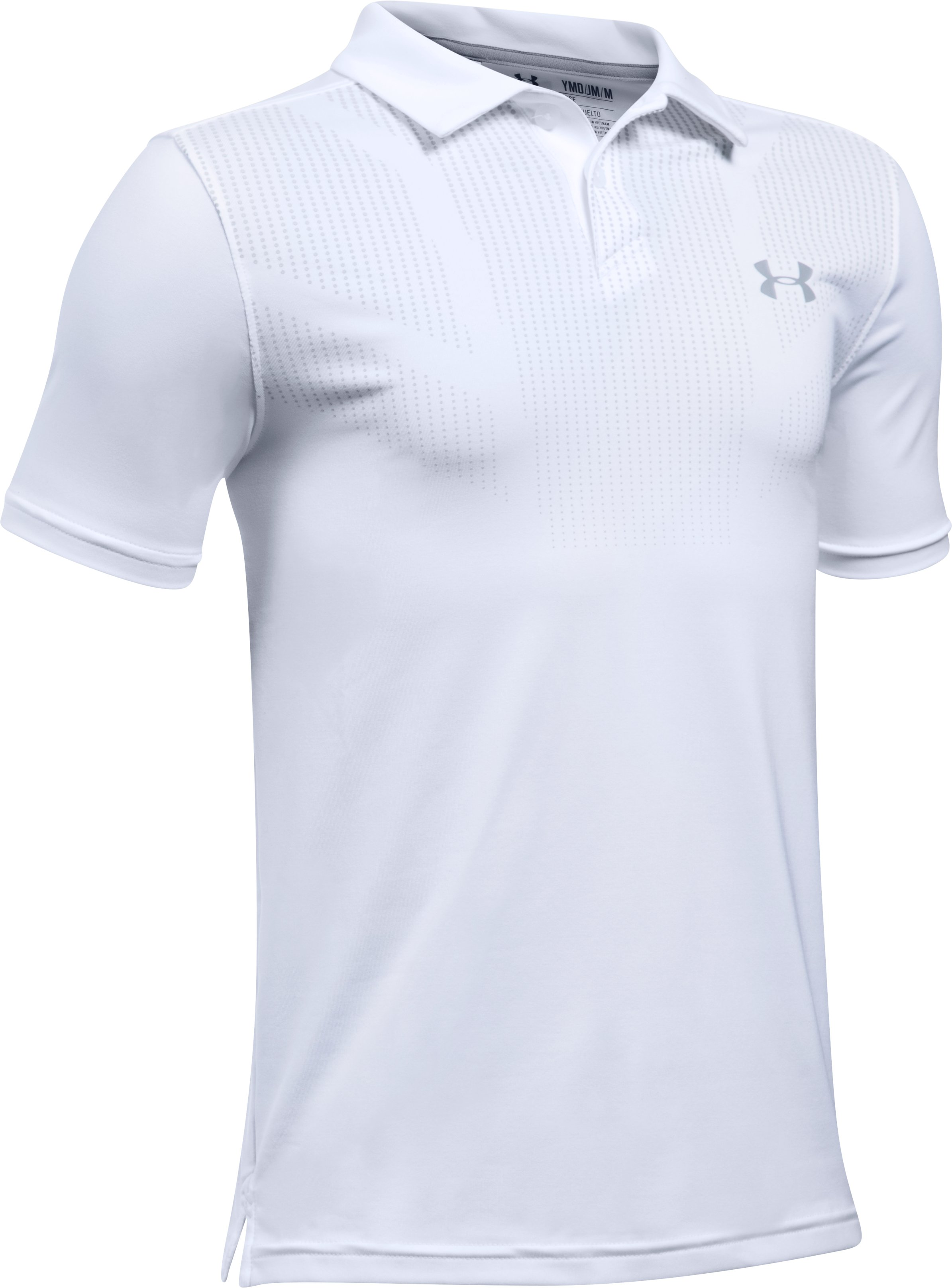 Boys' UA Tour Polo Shirt, White