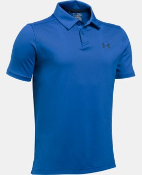 New Arrival  Boys' UA Tour Polo Shirt  2 Colors $44.99