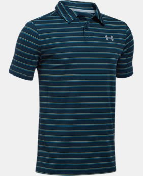 Boys' UA Putting Stripe Polo Shirt   $29.99