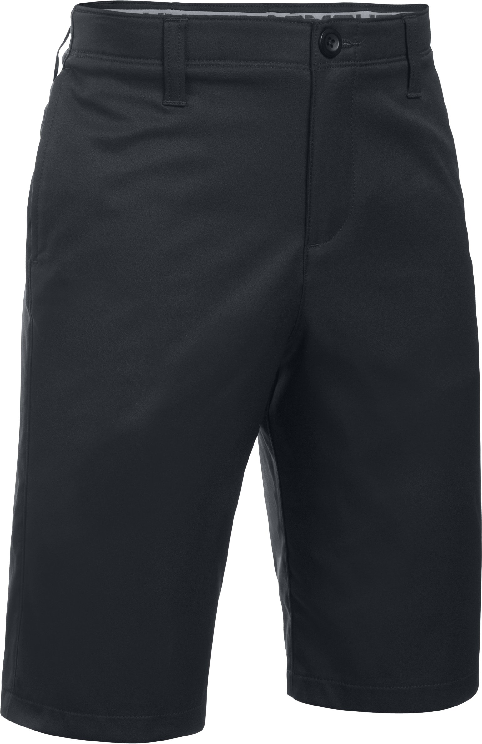 Boys' UA Match Play Shorts, Black