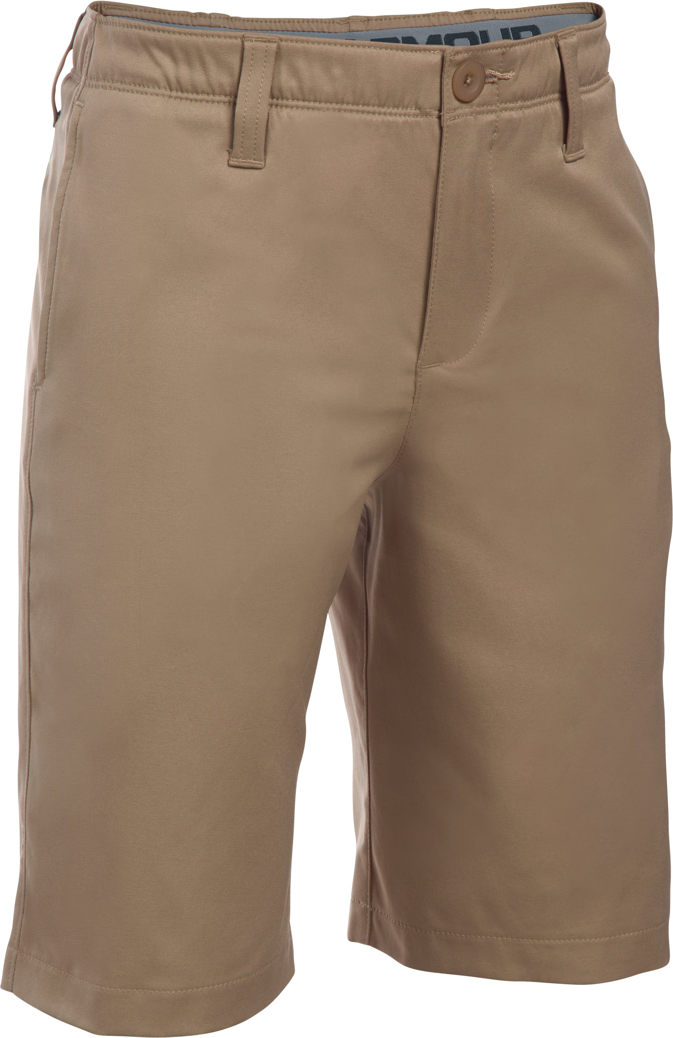 canvas shorts Boys' UA Match Play Shorts Great quality and comfort....What a hit!...Great breathable fabric.