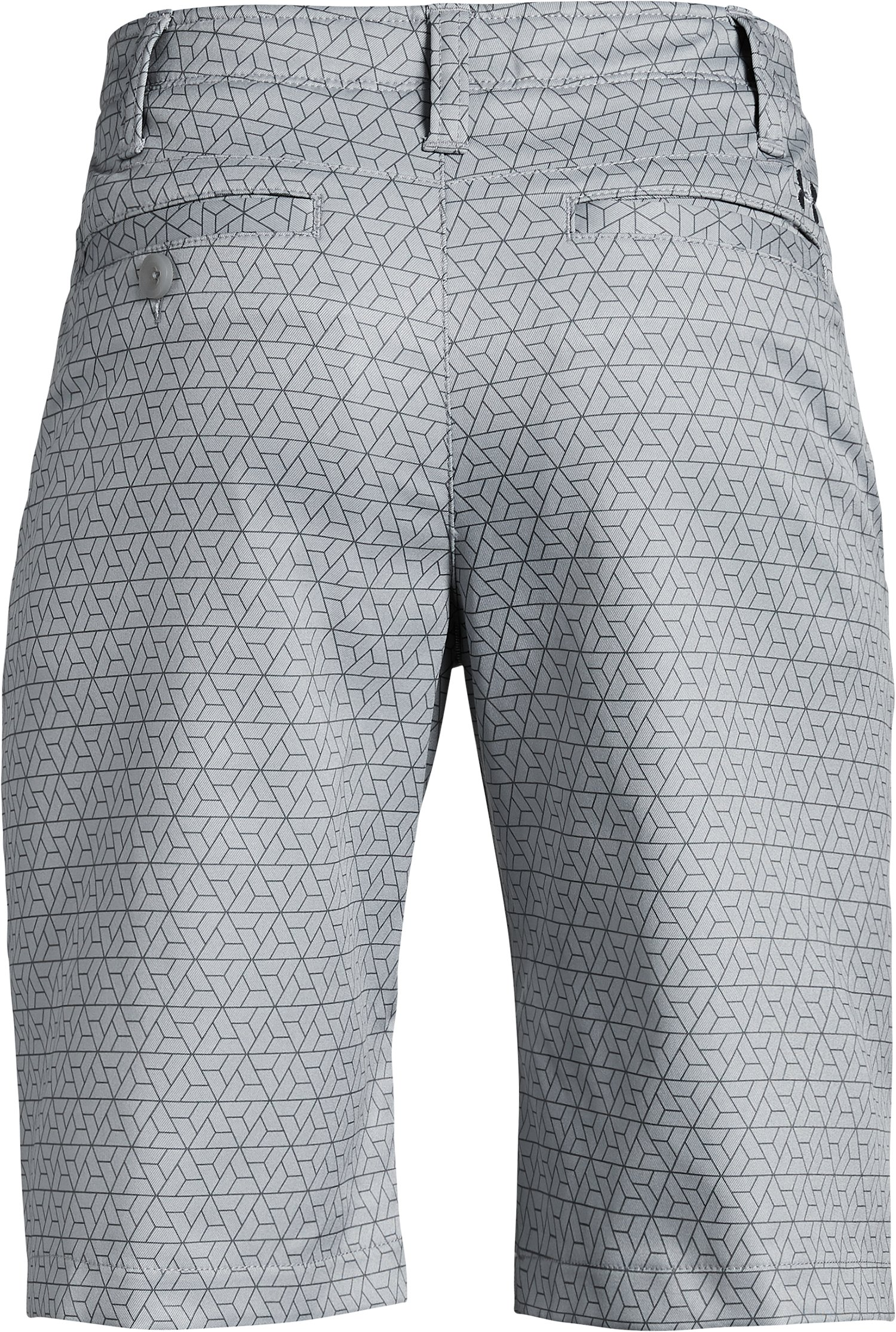 Boys' UA Match Play Printed Shorts, Steel,
