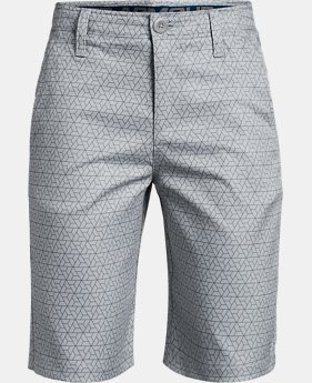 Boys' UA Match Play Printed Shorts  4  Colors Available $49.99