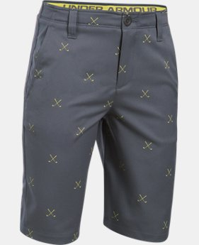 Boys' UA Match Play Printed Shorts  1 Color $37.49