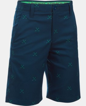 Boys' UA Match Play Printed Shorts  1 Color $31.49