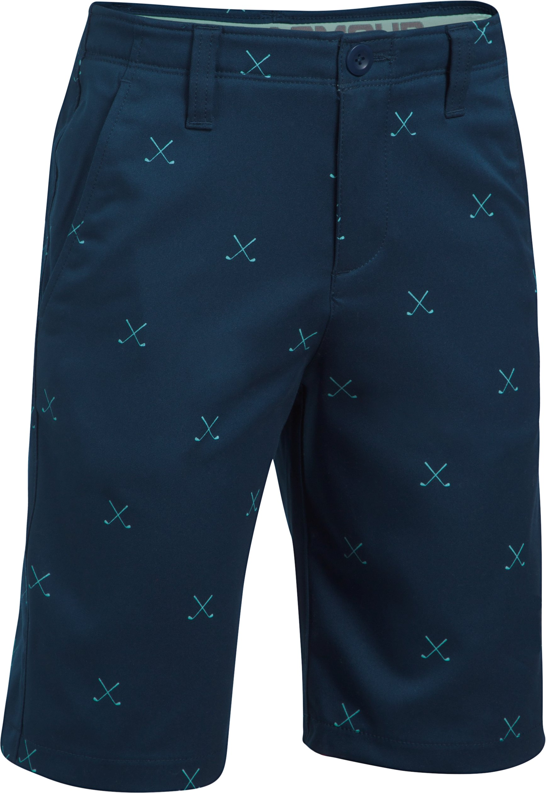 Boys' UA Match Play Printed Shorts, Academy