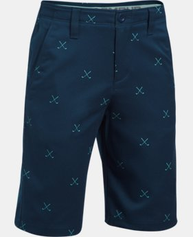 Boys' UA Match Play Printed Shorts  3 Colors $54.99