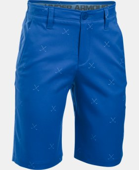 New to Outlet Boys' UA Match Play Printed Shorts  1 Color $28.49
