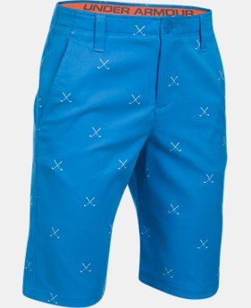 Boys' UA Match Play Printed Shorts  2 Colors $37.99