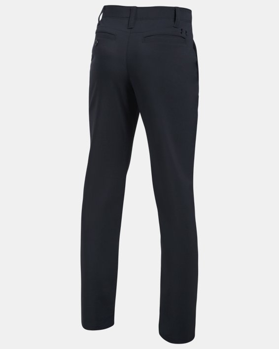 Boys' UA Match Play Pants, Black, pdpMainDesktop image number 1