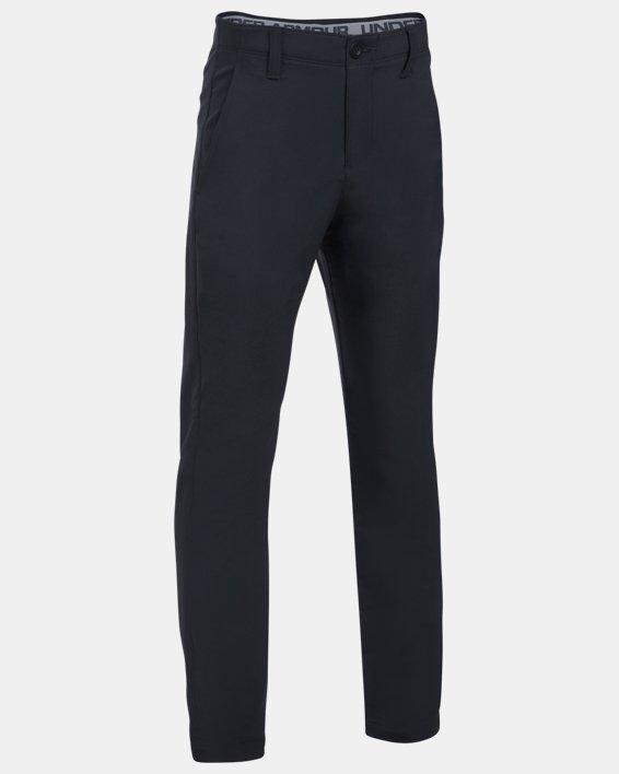 Boys' UA Match Play Pants, Black, pdpMainDesktop image number 0