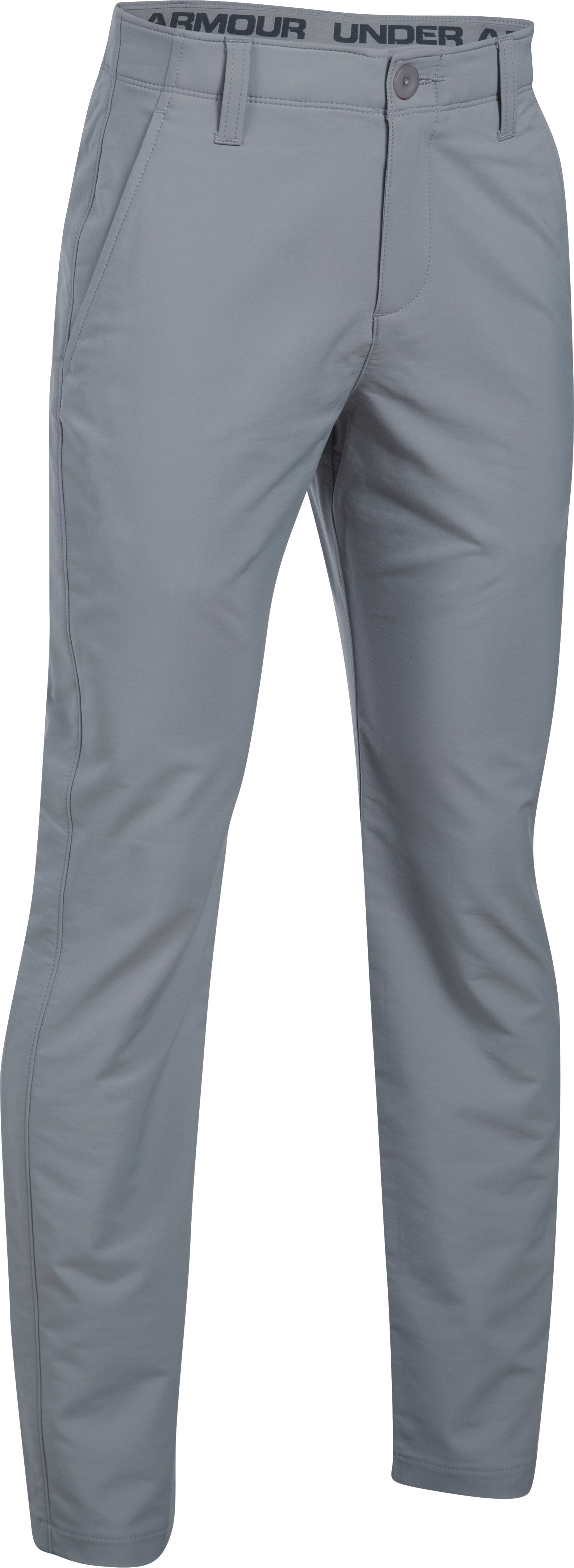 Boys' UA Match Play Pants, Steel,