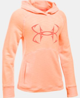 Girls' UA Shoreline Terry Hoodie  2 Colors $33.99