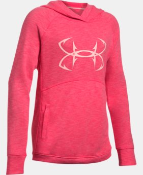 Girls' UA Shoreline Terry Hoodie  1 Color $29.99