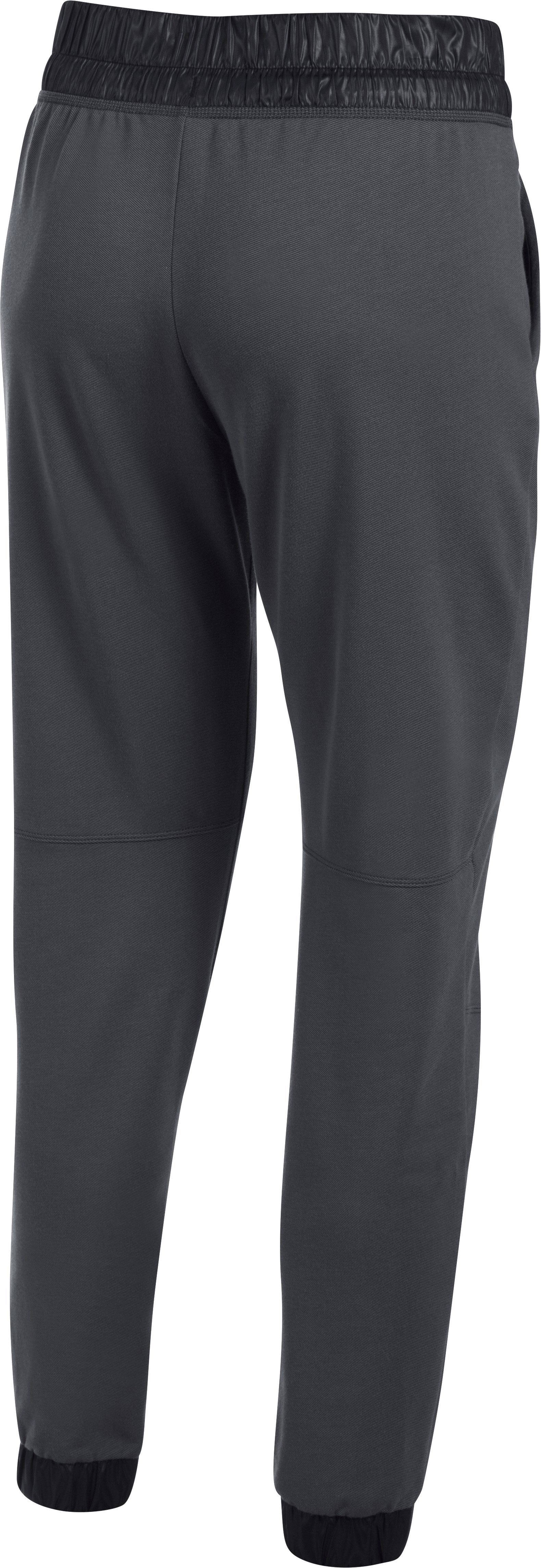 Women's UA Leisure Pants, ANTHRACITE, undefined