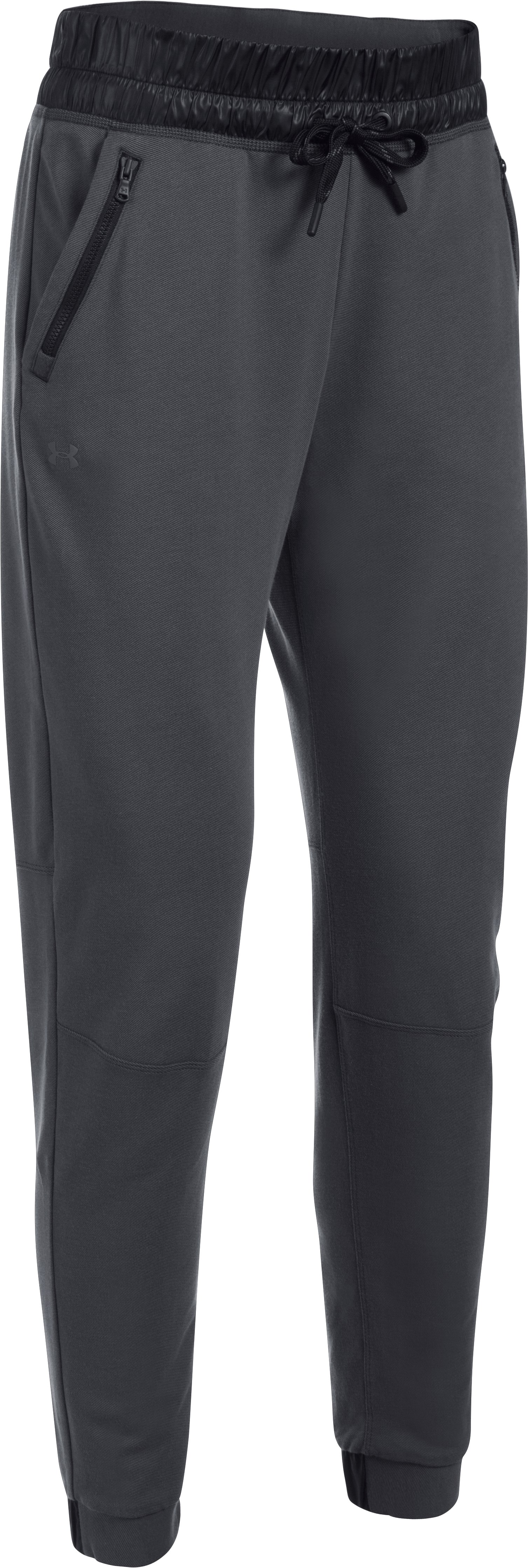 Women's UA Leisure Pants, ANTHRACITE,