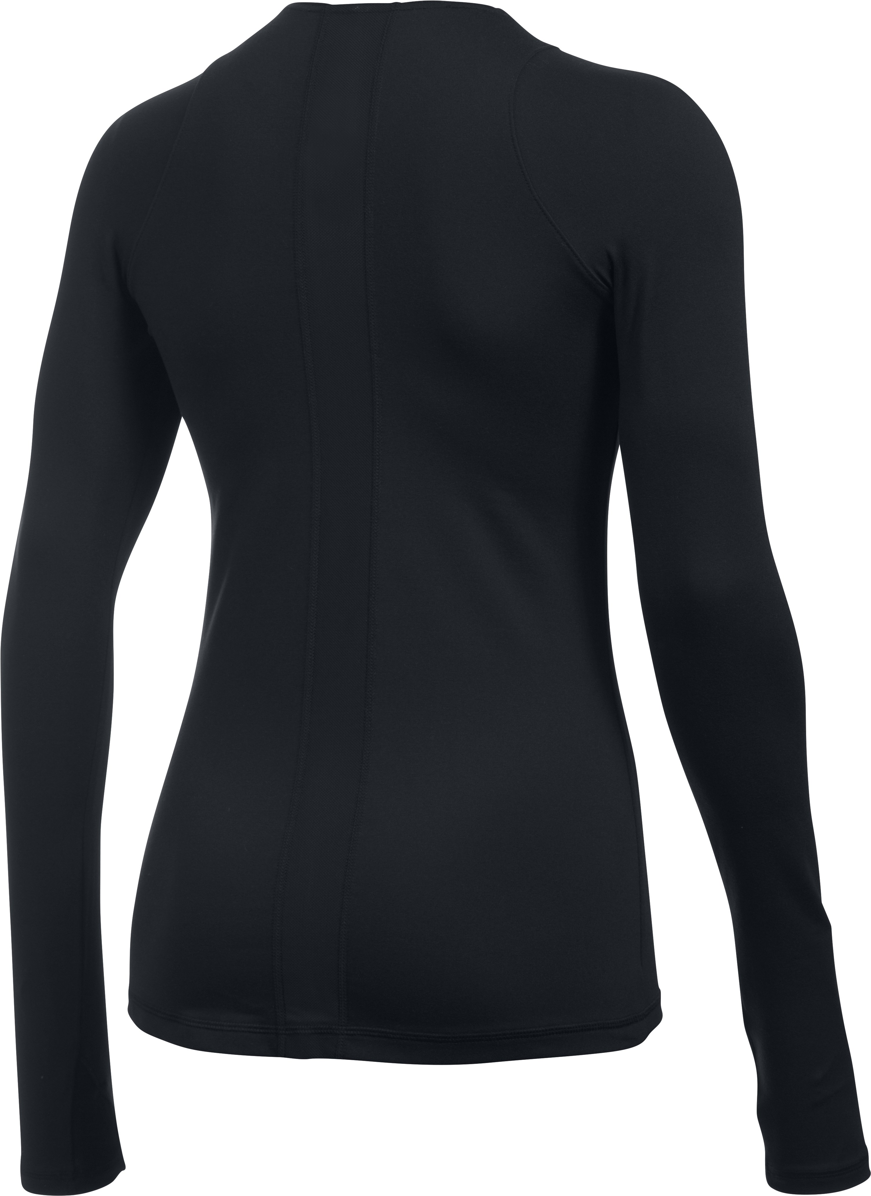 Women's UA Mirror Top, Black , undefined