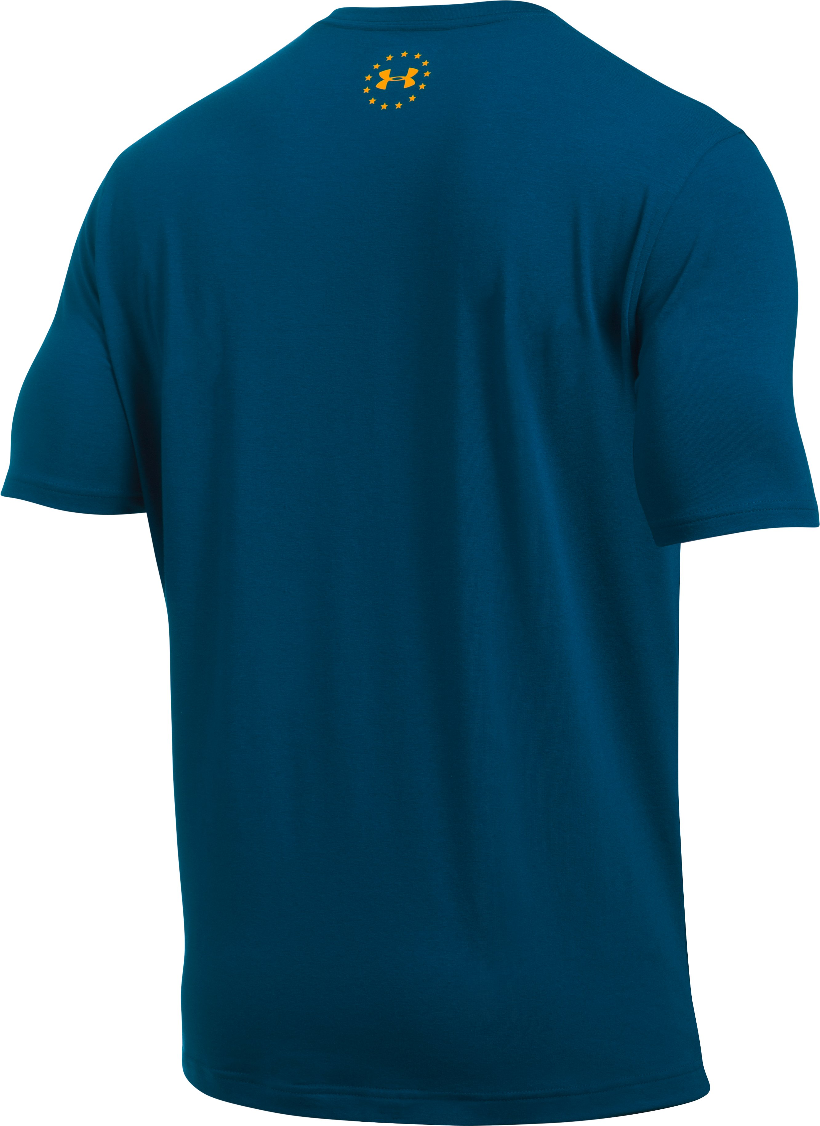 Men's UA Freedom By Sea T-Shirt, BLACKOUT NAVY,