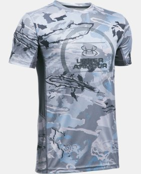 Boys' UA Tech™ Short Sleeve  1 Color $22.99