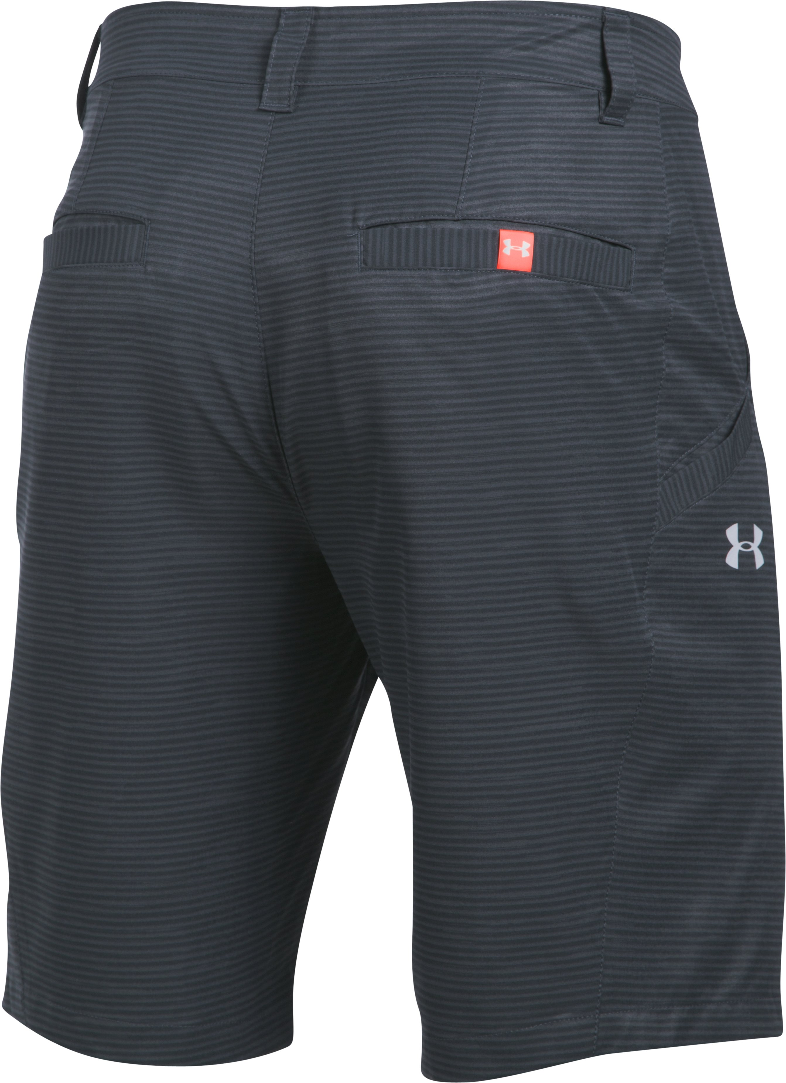 Men's UA Surf & Turf Stretch Amphibious Boardshorts, STEALTH GRAY, undefined