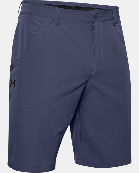 Men's UA Surf & Turf Stretch Amphibious Boardshorts, Blue, pdpMainDesktop image number 4