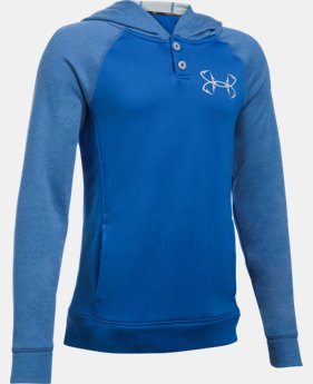 New Arrival Boys' UA Shoreline Terry Hoodie  1 Color $39.99